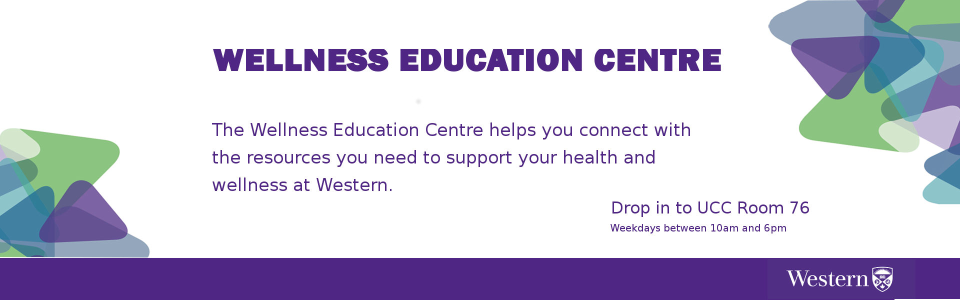 Wellness Education Centre - UCC 76