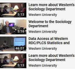 Sociology's YouTube playlist