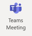New Teams Meeting icon