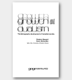 Growth and Dualism: The Demographic Development of Canadian Society -cover