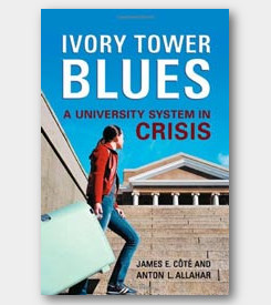 Ivory Tower Blues: A University System in Crisis - cover