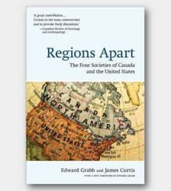 Regions Apart: The Four Societies of Canada and the United States (2nd) -cover