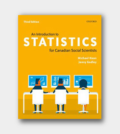 An Introduction to Statistics for Canadian Social Scientists (3rd ed) cover