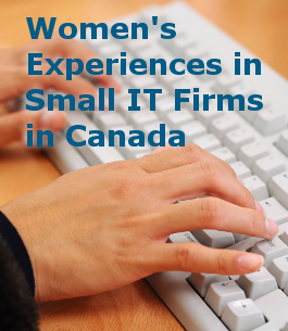 women in small IT firms in Canada